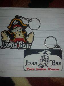 Gantungan kunci karet Yogyakarta