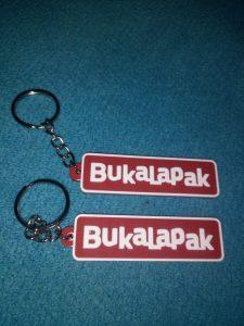 Gantungan kunci karet Surabaya