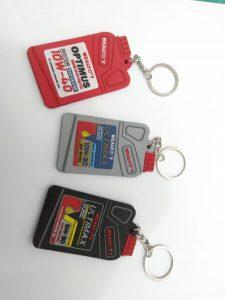 Gantungan kunci karet custom
