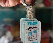 Gantungan kunci akrilik Jakarta