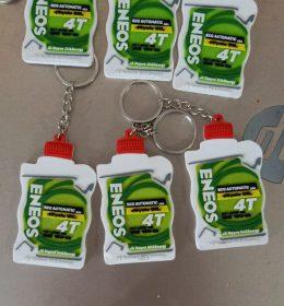 Gantungan kunci karet promosi